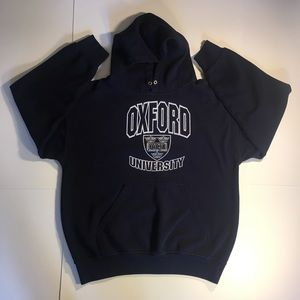 Oxford University Men's Pullover Sweatshirt Hoodie